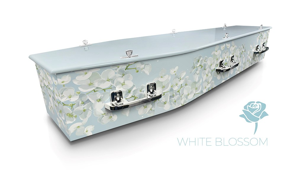 White Blossom - Lifestyle Coffins