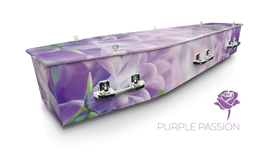 Purple Passion - Lifestyle Coffins