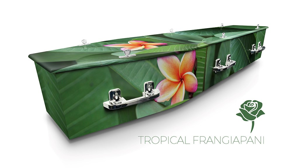 Tropical Frangipani - Lifestyle Coffins