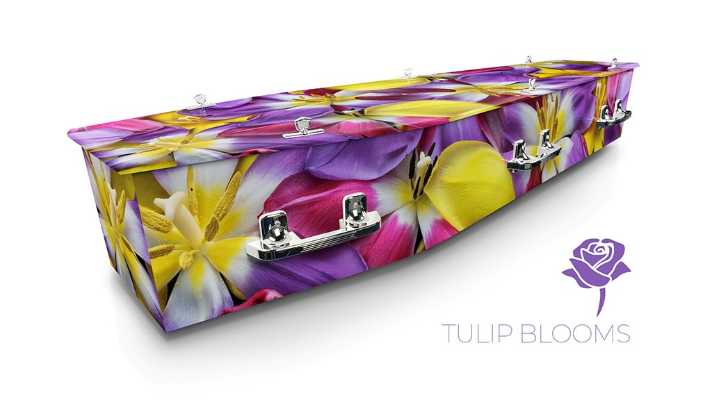 Tulip Blooms - Lifestyle Coffins
