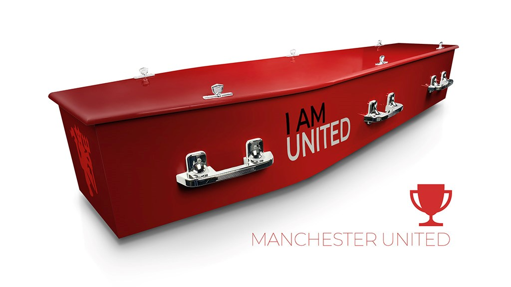 Manchester United - Lifestyle Coffins