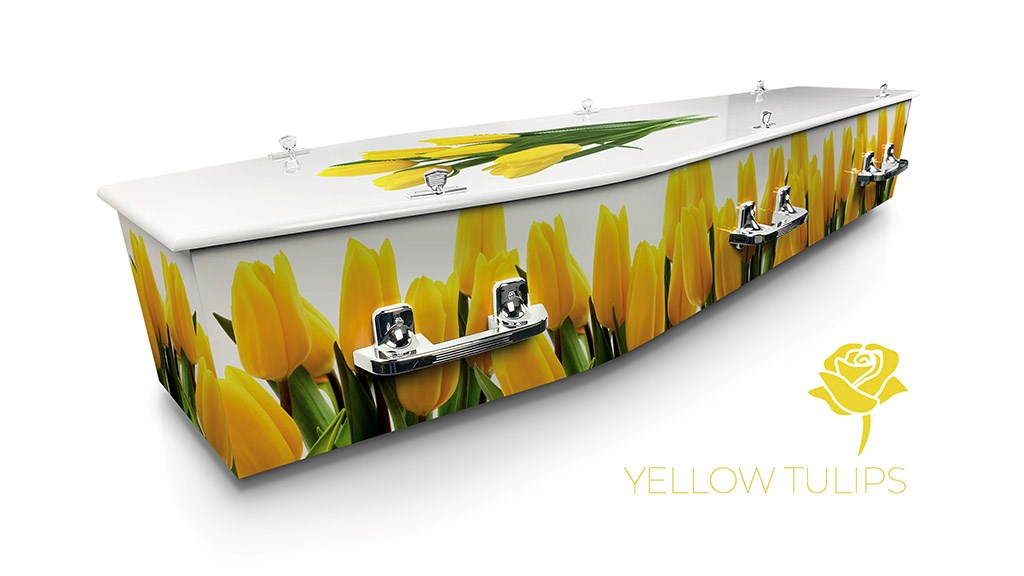 Yellow Tulips - Lifestyle Coffins