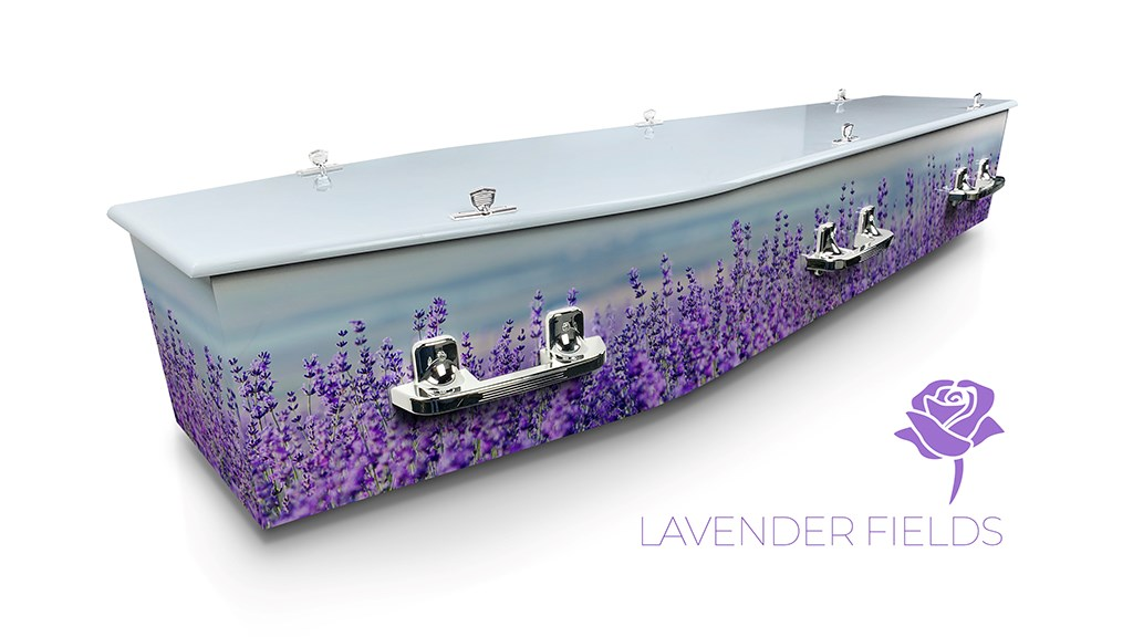 Lavender Fields - Lifestyle Coffins