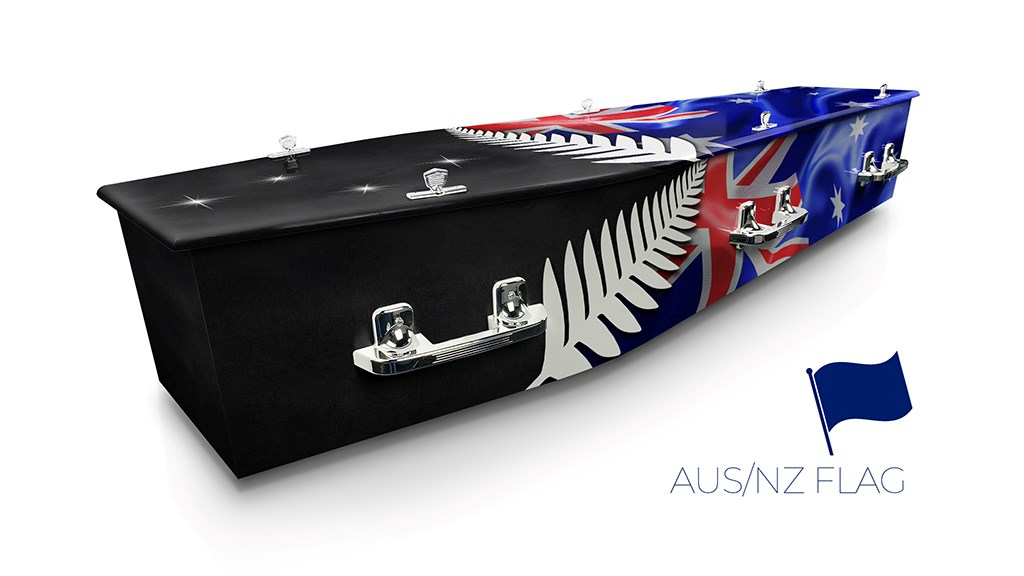 AUS/ NZ FLAG - Lifestyle Coffins