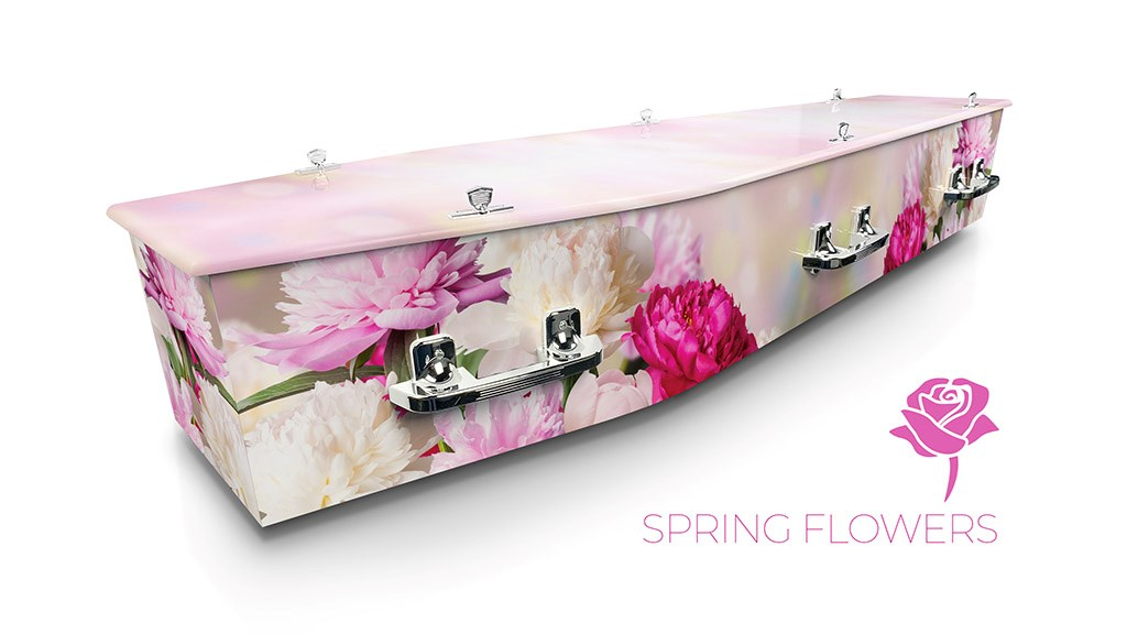 Spring Flowers - Lifestyle Coffins
