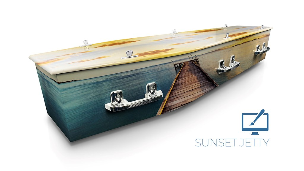 Sunset Jetty - Lifestyle Coffins