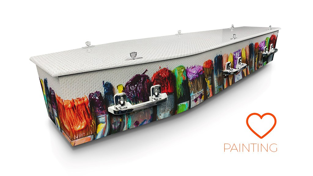 Painting - Lifestyle Coffins