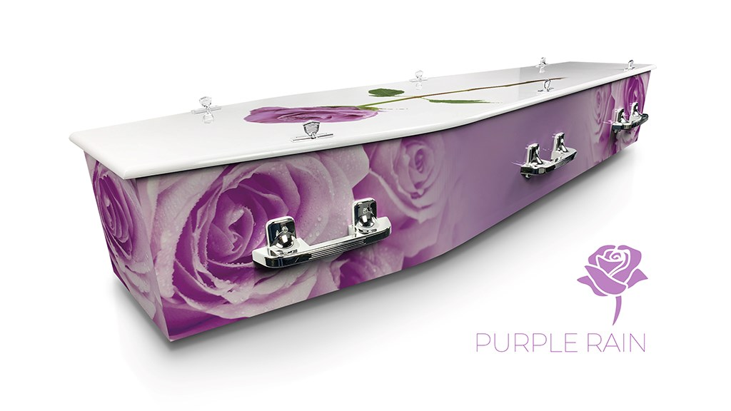 Purple Rain - Lifestyle Coffins