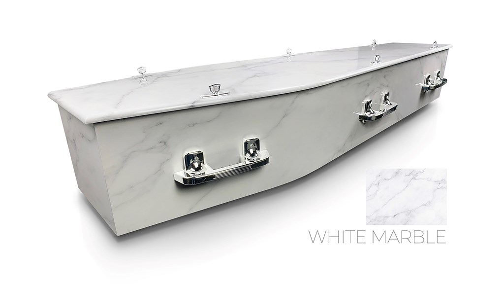 White Marble - Lifestyle Coffins