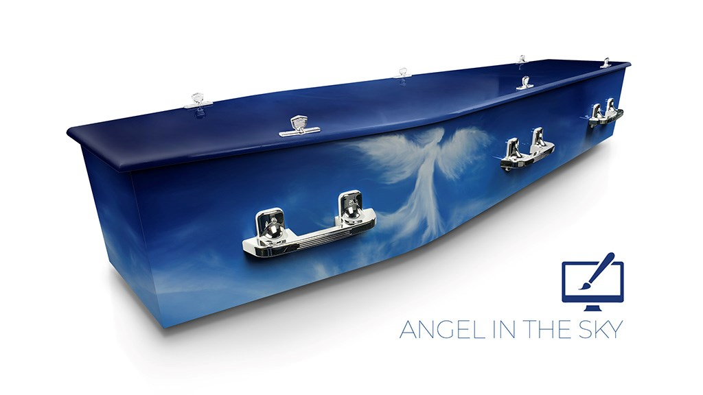 Angel in the Sky - Lifestyle Coffins