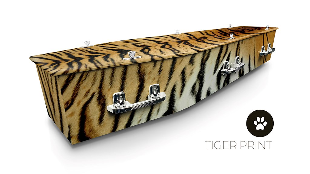 Tiger Print - Lifestyle Coffins