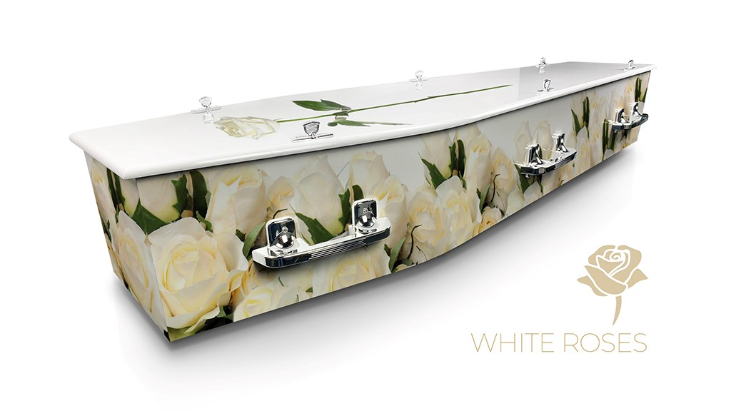 White Roses - Lifestyle Coffins