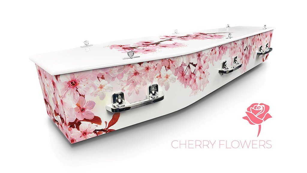 Cherry Flowers - Lifestyle Coffins