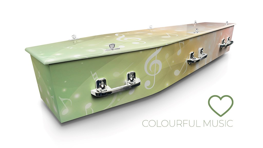 Colourful Music - Lifestyle Coffins