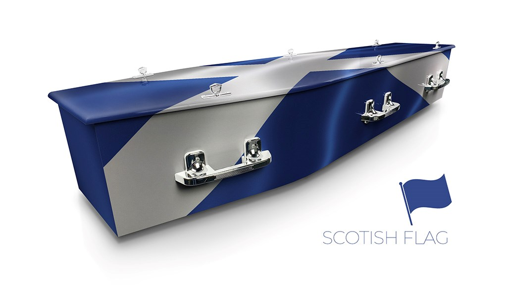 Scottish Flag - Lifestyle Coffins