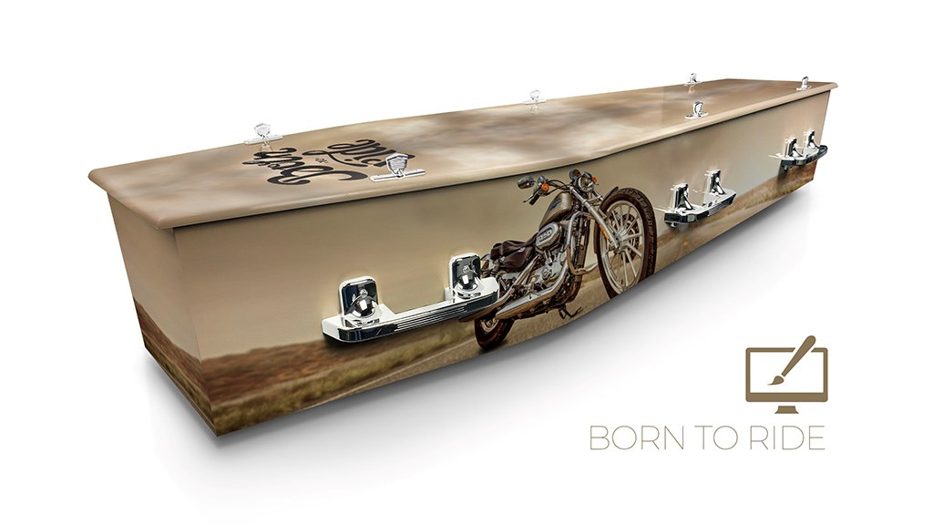 Born to Ride - Lifestyle Coffins