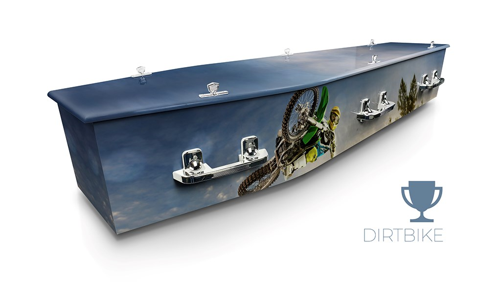 Dirt Bike - Lifestyle Coffins