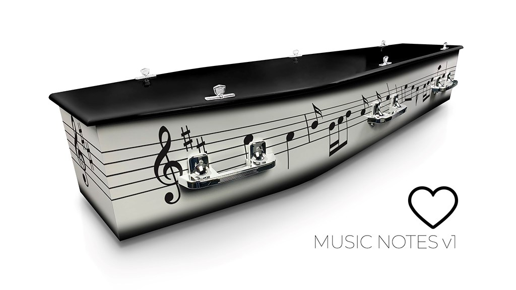 Music Notes v1 - Lifestyle Coffins