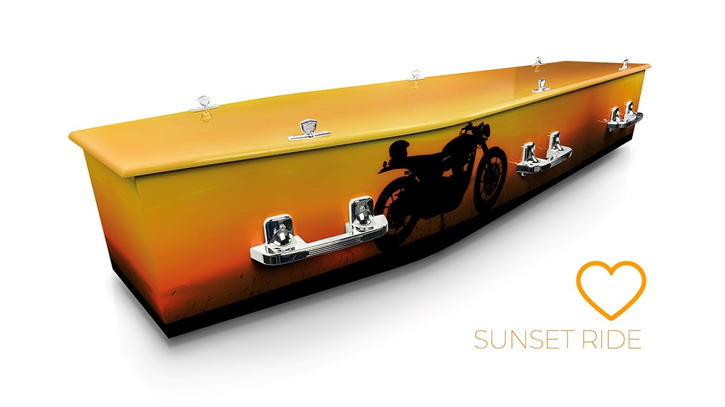 Sunset Ride - Lifestyle Coffins