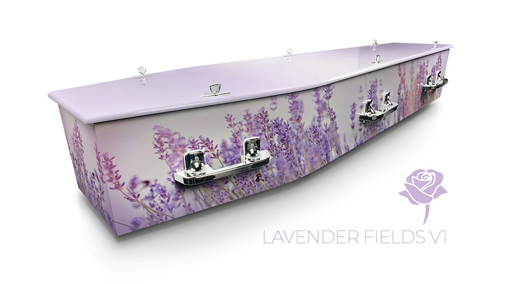 Lavender Fields v1 - Lifestyle Coffins