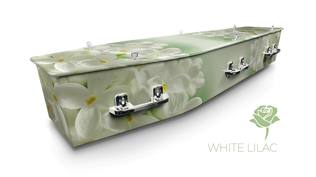 White Lilac - Lifestyle Coffins