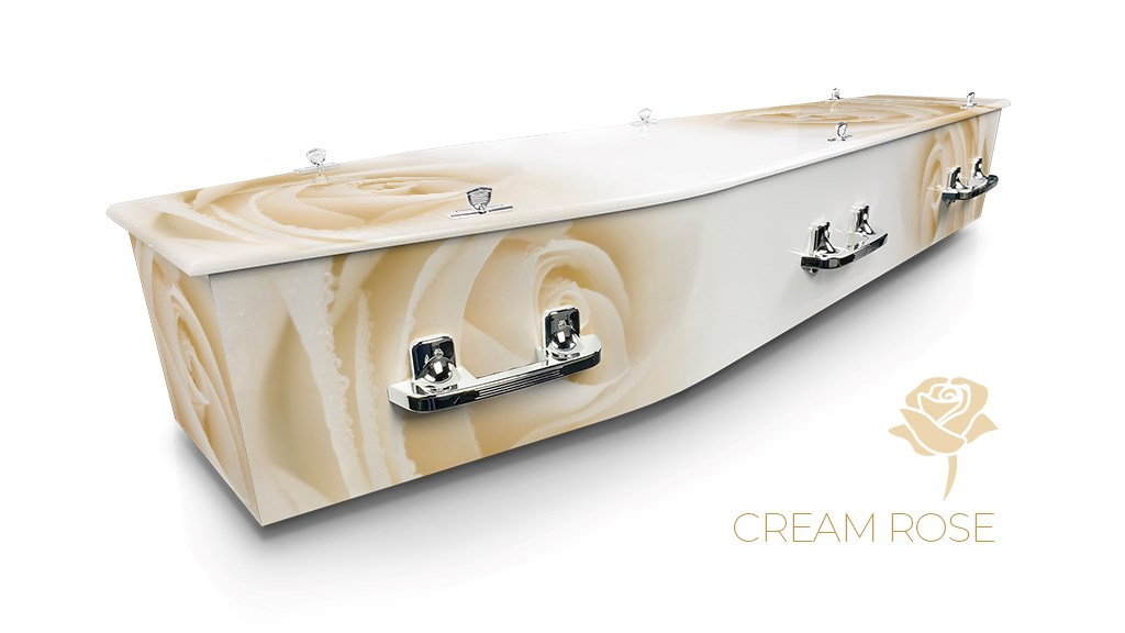 Cream Rose - Lifestyle Coffins