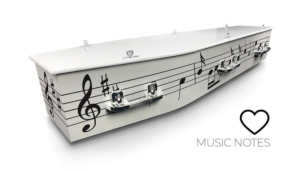 Music Notes - Lifestyle Coffins